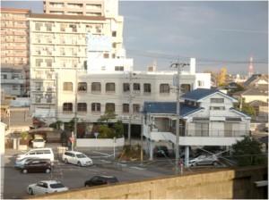刈谷市駅ホームより(南向き)